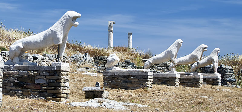 L'isola di Delos